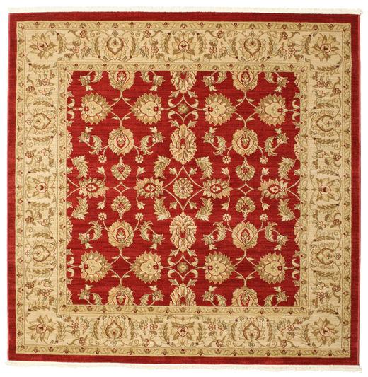 Ziegler Kaspin - Red Rug 192X192 Oriental Square Light Brown/Dark Beige ( Turkey)