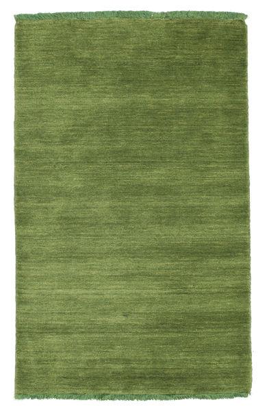 Handloom Fringes - Green Rug 80X120 Modern Olive Green (Wool, India)