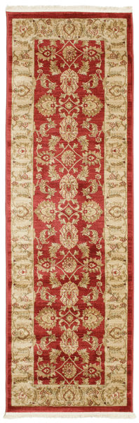 Ziegler Kaspin - Red Rug 80X250 Oriental Hallway Runner  Dark Beige/Rust Red ( Turkey)