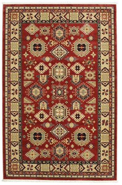 Shirvan Kazak Rug 200X300 Modern Rust Red/Dark Brown ( Turkey)