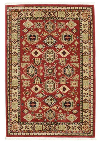 Shirvan Kazak Rug 140X200 Oriental Dark Red/Dark Brown ( Turkey)