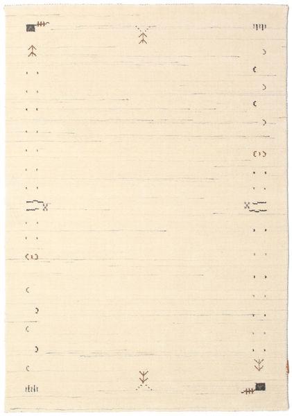 Gabbeh Loom Frame - Off White Rug 140X200 Modern Beige/Dark Beige (Wool, India)