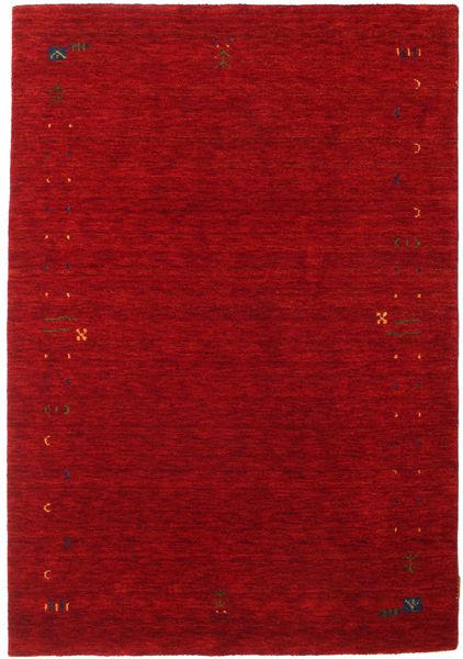 Gabbeh Loom Frame - Red Rug 140X200 Modern Dark Red/Crimson Red (Wool, India)