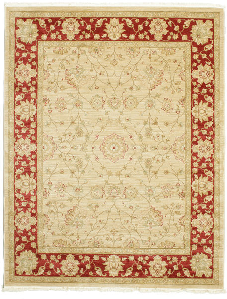 Farahan Ziegler - Beige/Red Rug 200X250 Oriental Beige/Yellow ( Turkey)