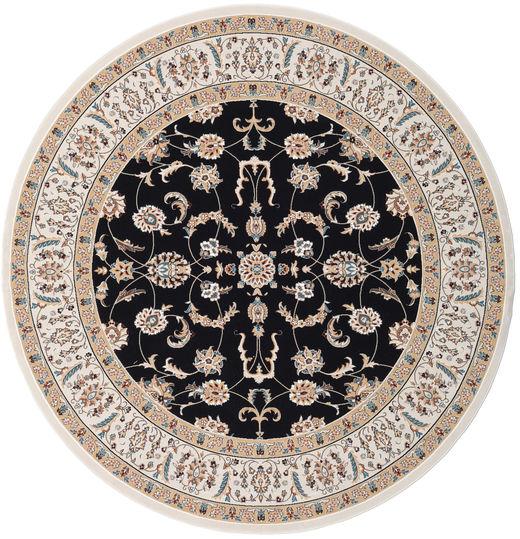 Nain Neizar Rug Ø 250 Oriental Round Beige/Black Large ( Turkey)
