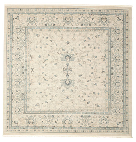 Ziegler Michigan - Green/Beige Rug 300X300 Oriental Square Light Grey/Beige Large ( Turkey)