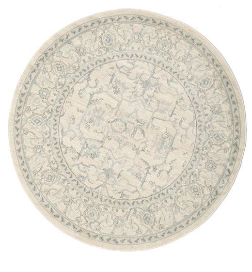 Ziegler Manhattan Rug Ø 150 Oriental Round Light Grey/Beige/Dark Beige ( Turkey)