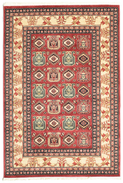 Kazak Simav Rug 140X200 Oriental Rust Red/Dark Red ( Turkey)