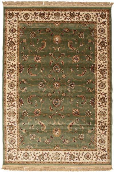 Sarina - Green Rug 160X230 Modern Dark Green/Brown/Light Brown ( Turkey)