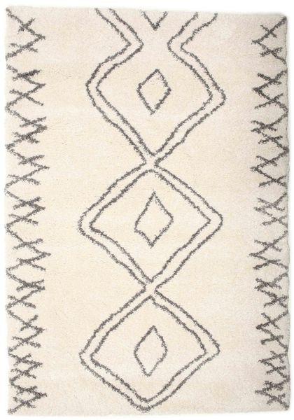 Berber Shaggy Massin Rug 160X230 Modern Beige/Light Grey ( Turkey)
