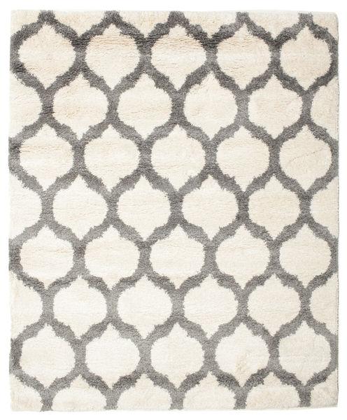 Berber Shaggy Illusia - Off White/Grey Rug 200X250 Modern Beige/Light Grey ( Turkey)