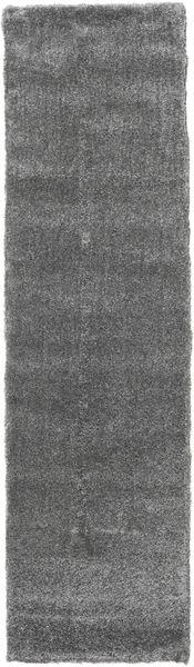 Shaggy Sadeh - Grey Rug 80X300 Modern Hallway Runner  Dark Grey ( Turkey)