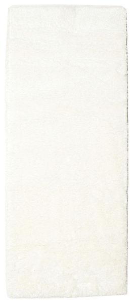 Shaggy Sadeh - White Rug 80X200 Modern Hallway Runner  Beige/White/Creme ( Turkey)