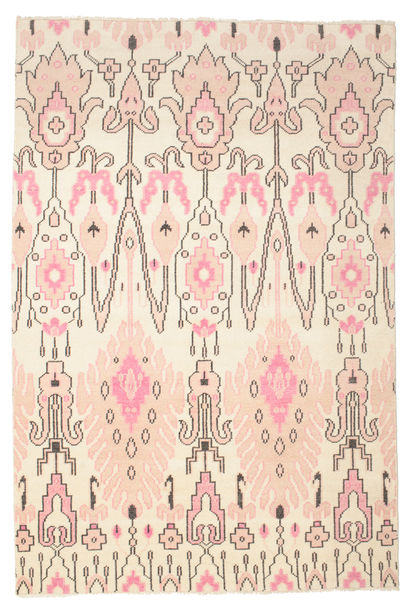 Taylor Rug 200X300 Authentic  Modern Handknotted Yellow/Beige/Light Pink (Wool, India)