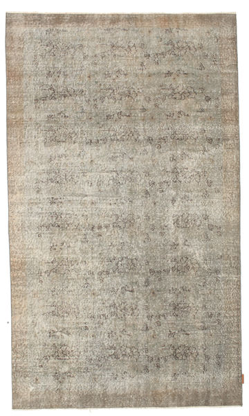 Colored Vintage Rug 156X264 Authentic  Modern Handknotted Light Grey/White/Creme (Wool, Turkey)