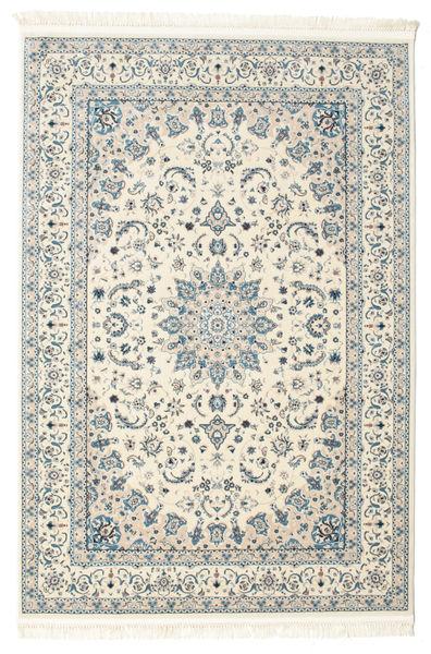 Nain Emilia - Cream/Light Blue Rug 160X230 Oriental Light Grey/Beige ( Turkey)
