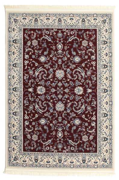 Nain Florentine - Dark Red Rug 160X230 Oriental Beige/Light Grey/Dark Brown ( Turkey)