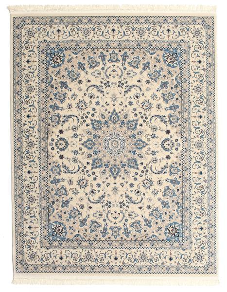 Nain Emilia - Cream/Light Blue Rug 200X250 Oriental Light Grey/Beige ( Turkey)
