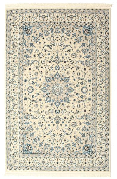 Nain Emilia - Cream/Light Blue Rug 200X300 Oriental Beige/Light Grey ( Turkey)