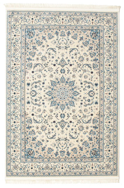 Nain Emilia - Cream/Light Blue Rug 120X180 Oriental Beige/Light Grey ( Turkey)