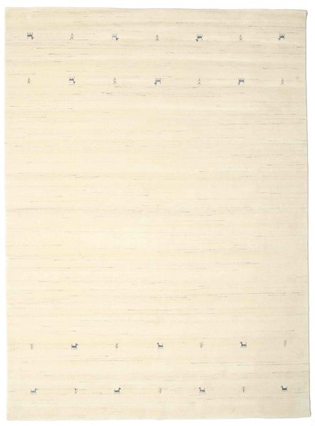 Gabbeh Loom Two Lines - Off White Rug 240X340 Modern Beige/Yellow (Wool, India)