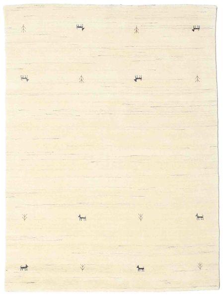 Gabbeh Loom Two Lines - Off White Rug 140X200 Modern Beige/White/Creme (Wool, India)