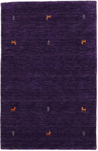 Gabbeh Loom Two Lines - Purple Rug 100X160 Modern Dark Purple (Wool, India)