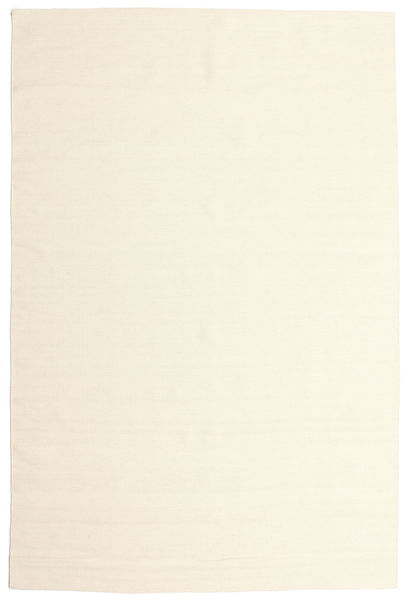 Kilim Loom - Off White Rug 200X300 Authentic  Modern Handwoven Beige/White/Creme (Wool, India)