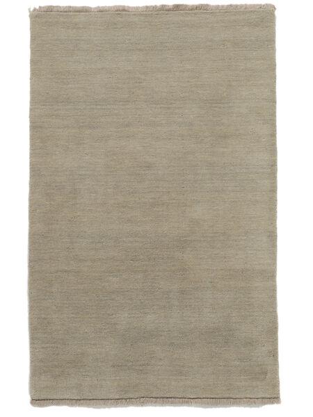 Handloom Fringes - Greige Rug 140X200 Modern Light Grey (Wool, India)