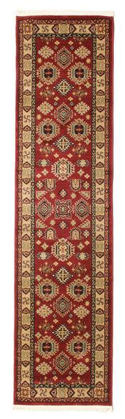 Shirvan Kazak Rug 80X300 Oriental Hallway Runner  Dark Red/Light Brown ( Turkey)
