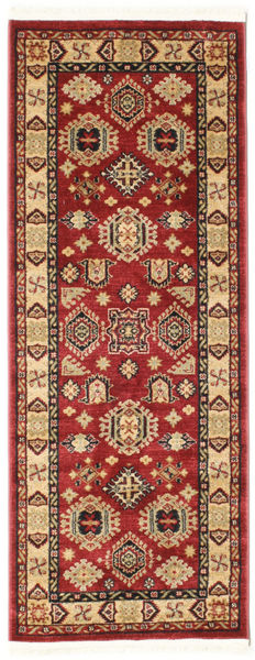 Shirvan Kazak Rug 80X200 Oriental Hallway Runner  Dark Red/Dark Brown ( Turkey)