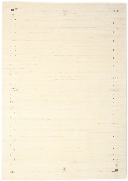 Gabbeh Loom Frame - Off White Rug 240X340 Modern Beige/White/Creme (Wool, India)