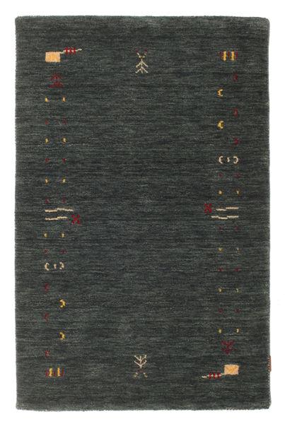 Gabbeh Loom Frame - Dark Grey/Green Rug 100X160 Modern Dark Green (Wool, India)