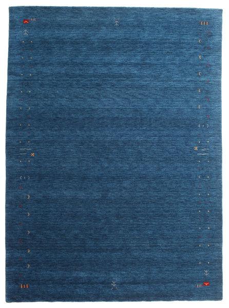 Gabbeh Loom Frame - Dark Blue Rug 240X340 Modern Dark Blue/Blue (Wool, India)
