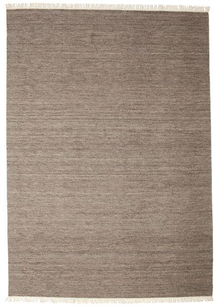 Melange - Brown Rug 250X350 Authentic  Modern Handwoven Light Grey/Brown Large (Wool, India)