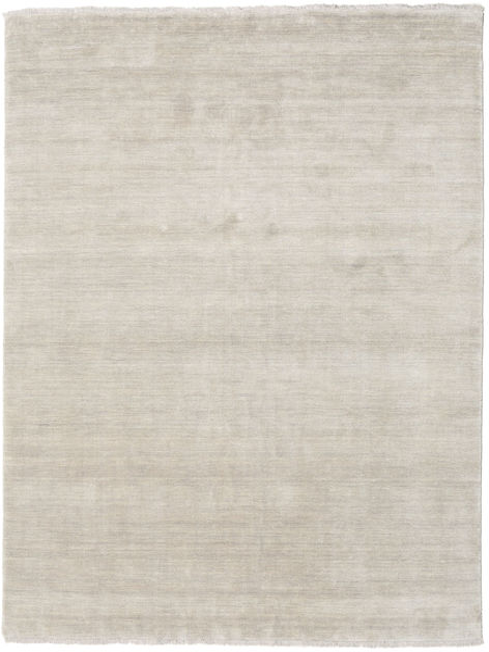 Handloom Fringes - Greige Rug 200X250 Modern Light Grey (Wool, India)