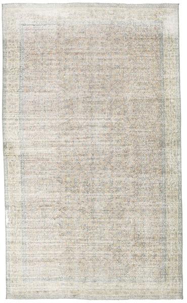 Colored Vintage Rug 166X278 Authentic  Modern Handknotted Light Grey/Dark Beige (Wool, Turkey)