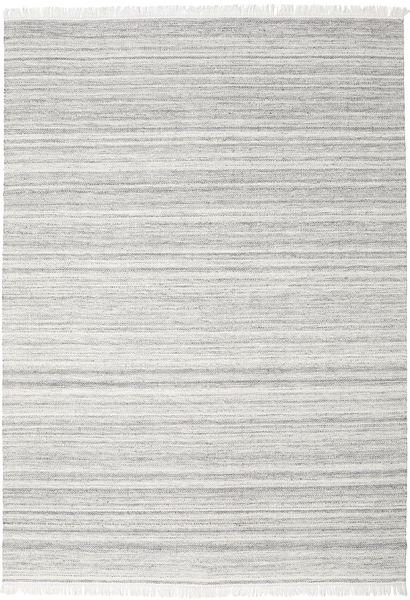 Diamond Wool - Grey Rug 240X340 Authentic  Modern Handwoven Light Grey/White/Creme (Wool, India)