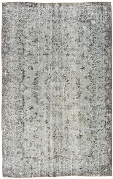 Colored Vintage Rug 165X262 Authentic  Modern Handknotted Light Grey/Dark Grey (Wool, Turkey)