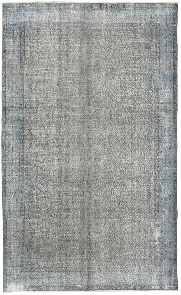 Colored Vintage Rug 165X271 Authentic  Modern Handknotted Light Grey/Dark Grey (Wool, Turkey)