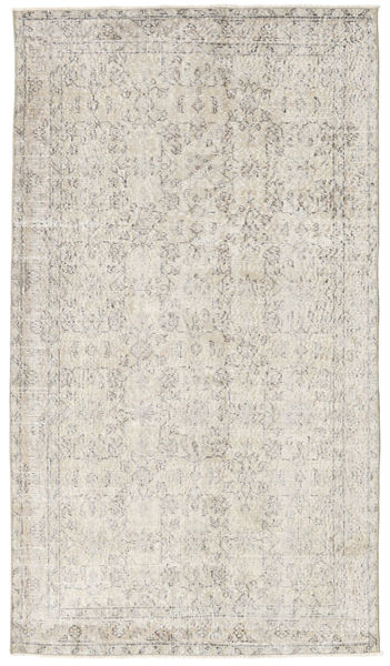 Colored Vintage Rug 112X200 Authentic  Modern Handknotted Light Grey (Wool, Turkey)
