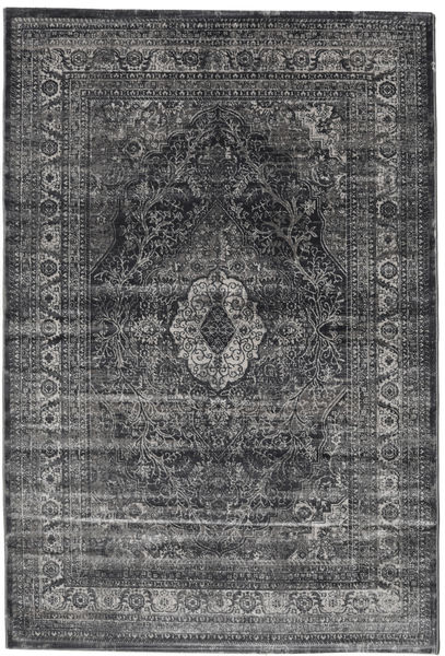 Jacinda - Anthracite Rug 140X200 Modern Dark Grey/Black ( Turkey)