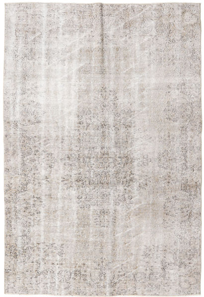 Colored Vintage Rug 159X249 Authentic  Modern Handknotted Light Grey (Wool, Turkey)