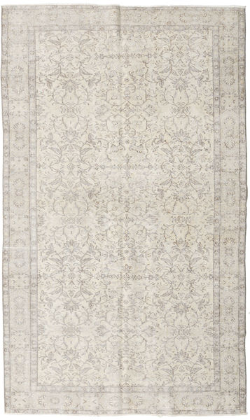 Colored Vintage Rug 164X273 Authentic  Modern Handknotted Light Grey (Wool, Turkey)