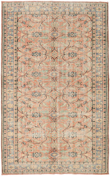 Colored Vintage Rug 163X264 Authentic  Modern Handknotted Light Grey/Beige (Wool, Turkey)