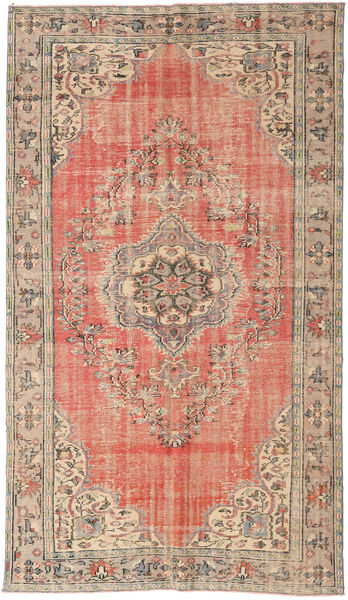 Colored Vintage Rug 173X305 Authentic  Modern Handknotted Light Brown/Light Pink (Wool, Turkey)