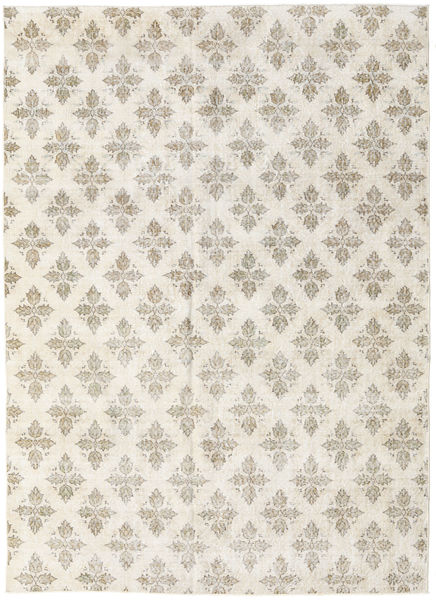 Colored Vintage Rug 206X287 Authentic  Modern Handknotted Light Grey/Beige (Wool, Turkey)