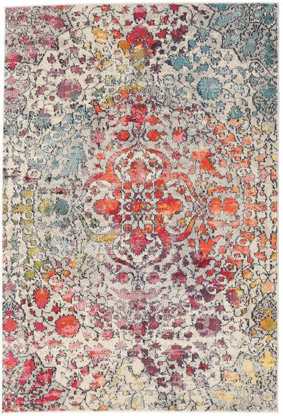 Kaleidoscope - Multi Rug 160X230 Modern Light Grey/Dark Brown ( Turkey)