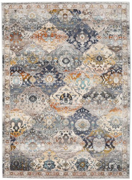 Molina - Dark Rug 142X206 Modern Light Grey ( Turkey)