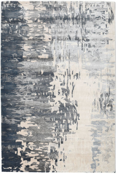 Kaskad - Grey/Cream Rug 160X230 Modern Light Grey/Dark Grey ( Turkey)